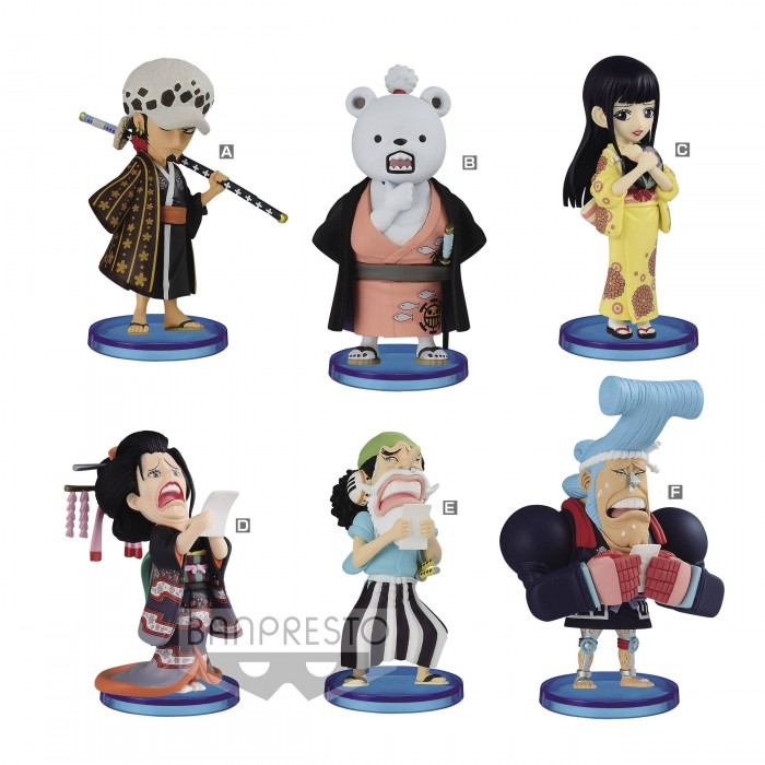 One Piece WCF - Wanokuni Vol.2 - 7 cm (vendu par 8)