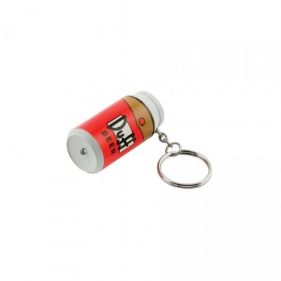 The Simpsons - porte-clef lampe torche LED - Duff