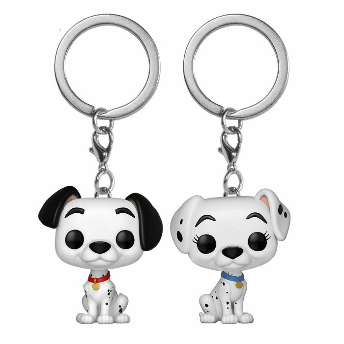 Pongo and Perdita - Pocket POP Keychain