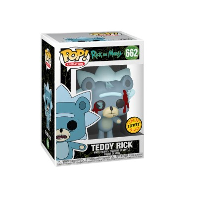Teddy Rick (Chase) - Rick and Morty (662) - POP Animation