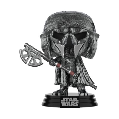 Knight of Ren (Axe) (Hematite Chrome) - Star Wars episode IX (...) - Pop Movie