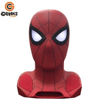 Enceinte Bluetooth - Home Coming - Spiderman - Tête 1:1 avec Projecteur