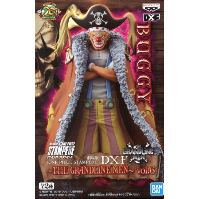 Buggy - One Piece Stampede - Grandline DXF vol.6 - 17cm