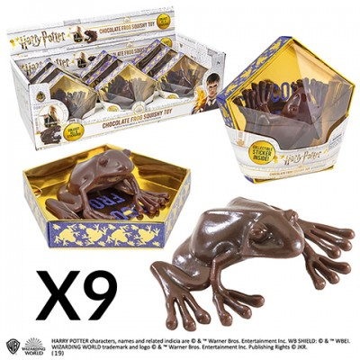 Réplique - Harry Potter - Chocogrenouille - Display de 9 pcs