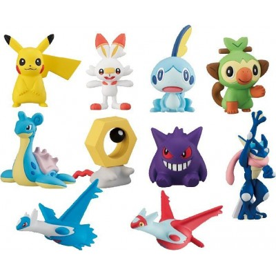 Pokemon Get Collections Candy Our Friends: 1Box (10pcs)