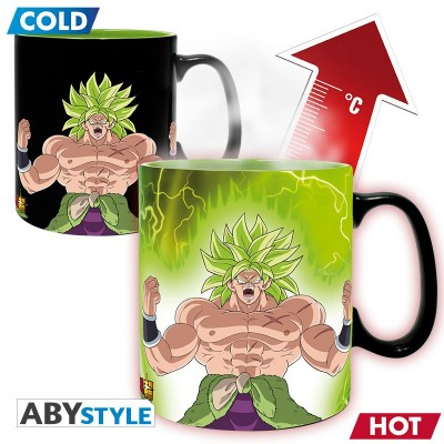 Mug - Dragon Ball Super Broly - Thermo Réactif - Broly et Gogeta - 460ml