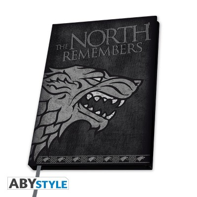 Carnet de Note - Game of Thrones - Stark - A5