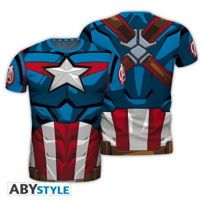 T-shirt - Captain America - Marvel