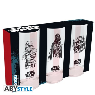 Set de 3 verre - Star Wars - 290ml