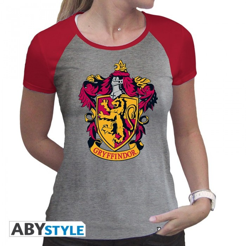T-shirt - Harry Potter - Gryffondor - Femme - S