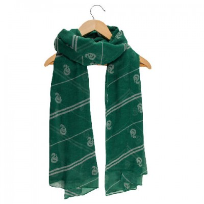 Harry Potter - Echarpe légère Foulard Serpentard