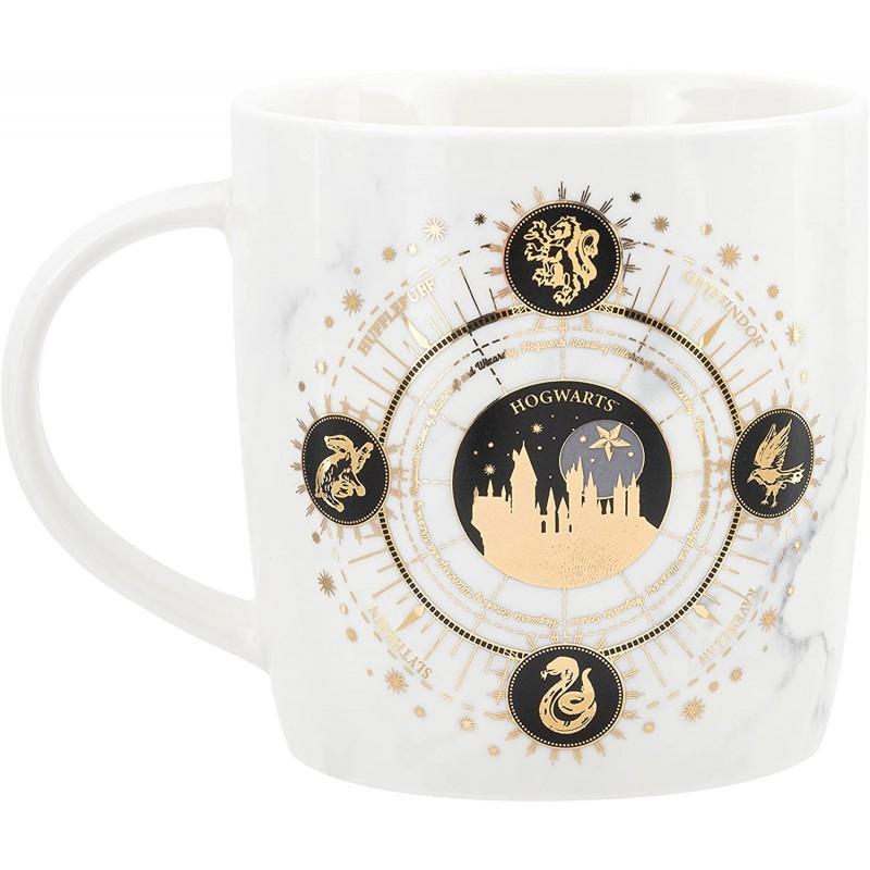 Cravate Deluxe - Poufsouffle avec Pin's - Harry Potter