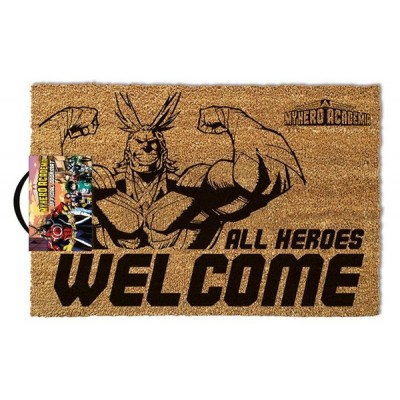 Paillasson - My Hero Academia - Alle Heroes Welcome - 40x60cm