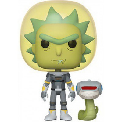 Space Suit Rick w/Snake - Rick and Morty (689) - Pop Animation