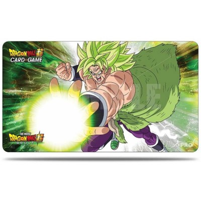 Tapis de jeu - Broly S4 V3 - Dragon Ball Super - 60 x 35cm