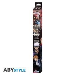 Porte-clef Métal - Finn, Jake, Beemo, Lumpy, Princess Bubblegum Charms - Adventure Time