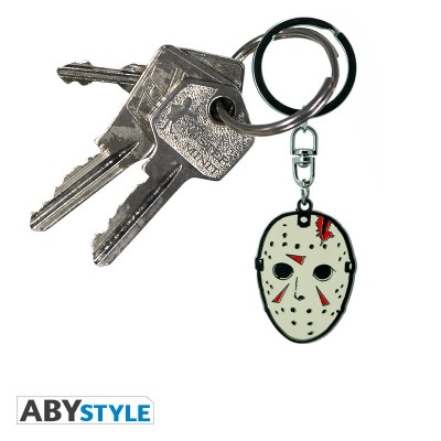 Porte-Clef Métal - Masque - Friday the 13th