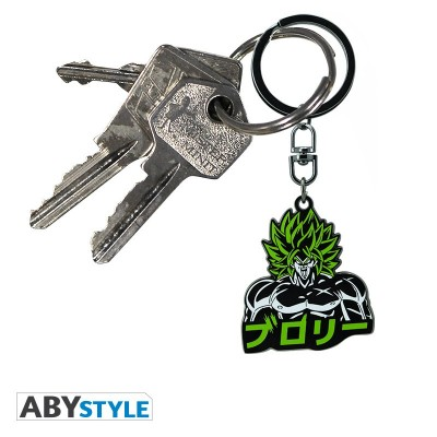 Porte-Clef Métal - Broly - Dragon Ball