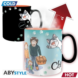 Mug - Chi! - Thermo Réactif - Chi et Poisson