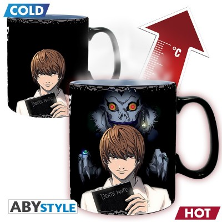 Mug - Death Note - Thermo Réactif - Kira et L - 460ml