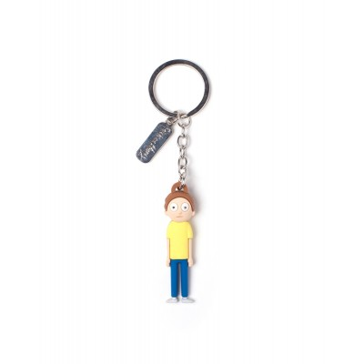 Porte-clef 3D Rubber - Morty - Rick et Morty