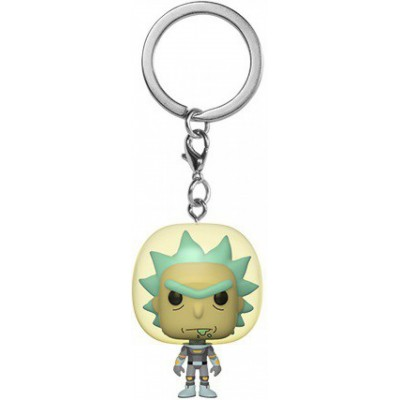 Rick w/Space Suit - Rick et Morty Pocket POP Keychain