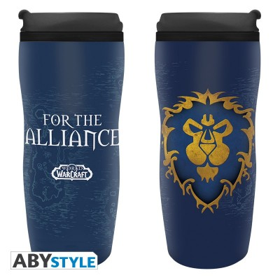 Mug de voyage - World of Warcraft - Alliance - 355ml