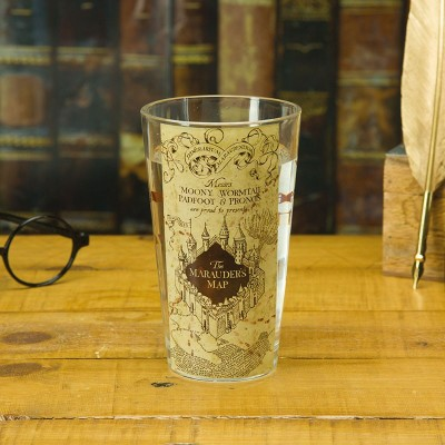 Verre - Harry Potter - Carte du Maraudeur