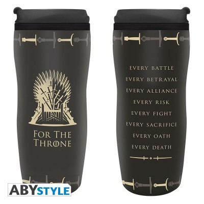 Mug de voyage - Game of Thrones - Trône - 355ml
