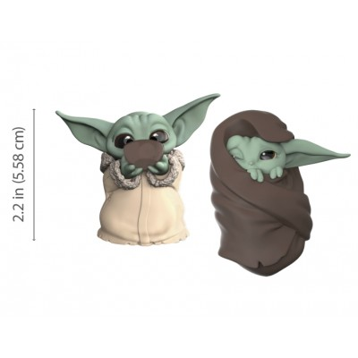 Star Wars - The Child (Baby Yoda) - Pack de 2 - Soupe + Couverture - 5.5cm