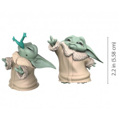Star Wars - The Child (Baby Yoda) - Pack de 2 - Trop petit + Grenouille - 5.5cm