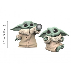 Star Wars - The Child (Baby Yoda) - Pack de 2 - Balle + Triste - 5.5cm