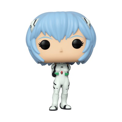 Rei Ayanami - Evangelion (...) - Pop Animation