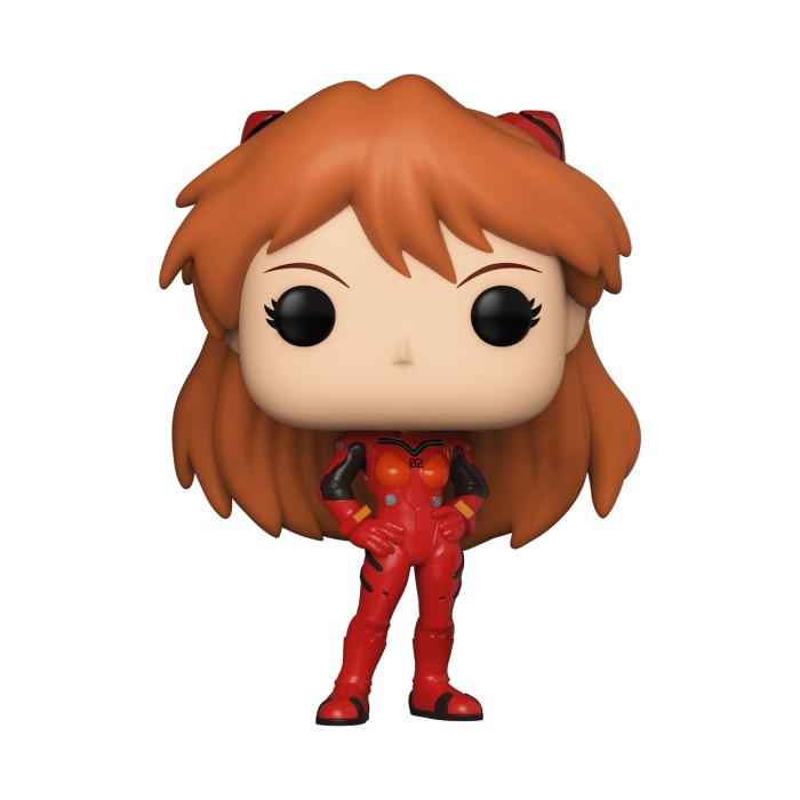 Asuka Langly Soryu - Evangelion (...) - Pop Animation