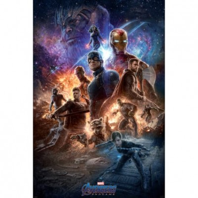"Marvel - Poster ""Avengers End Game"" roulé filmé (91.5x61)"