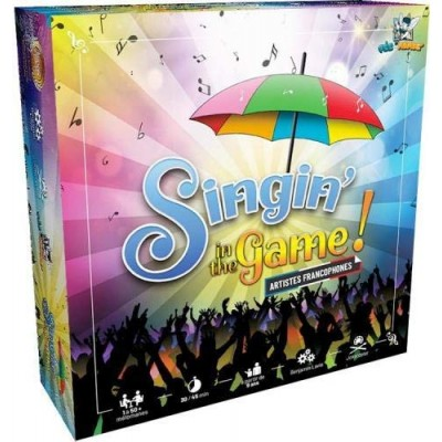 Singing in the Game - Jeu de cartes