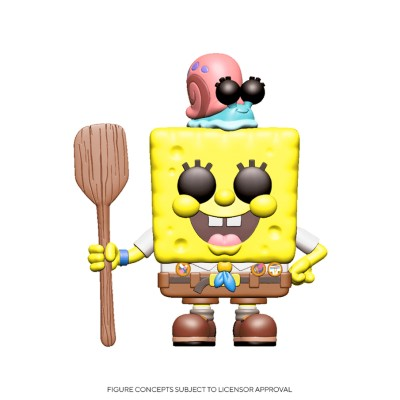 SpongeBob in Camping Gear - Bob l'éponge (...) - Pop Animation