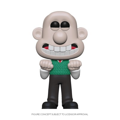 Wallace - Wallace and Gromit (...) - Pop Animation