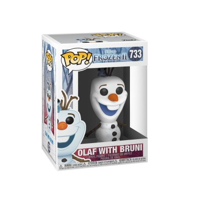 Olaf with Bruni - Frozen 2 (733) - Pop Disney
