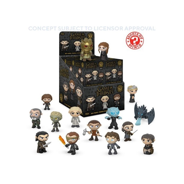 Game of Thrones - Mystery Mini (Blindbox 12 figs pack)