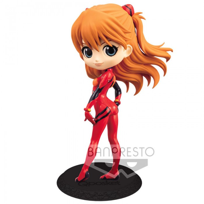 Asuka Shikinami Langley Plugsuit Style (Normale vers) - Evangelion Movie - Q Posket - 14cm