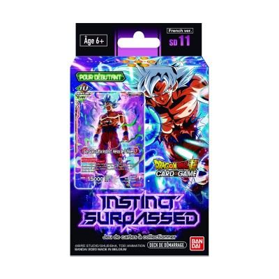 JCC - Starter SD11 - Dragon Ball Super Serie 9 (FR) x6