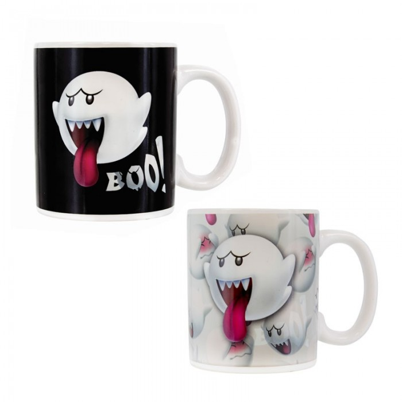 Mug Thermo reactif - Nintendo - Boo - 300ml
