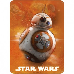 Plaque Métalique - BB8 - Star Wars (28x38)