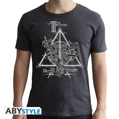 T-shirt Harry Potter - Deathly Hallows - L