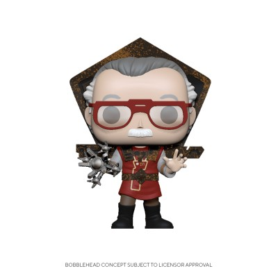Stan Lee in Ragnarok Outfit - Stan Lee (...) - Pop Icons