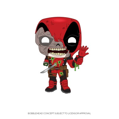 Deadpool Zombie - Marvel (...) - Pop Marvel