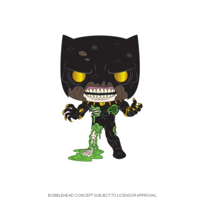 Black Panther Zombie - Marvel (...) - Pop Marvel