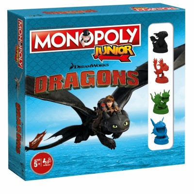 Monopoly Junior - Dragons - Collector Edition (FR)