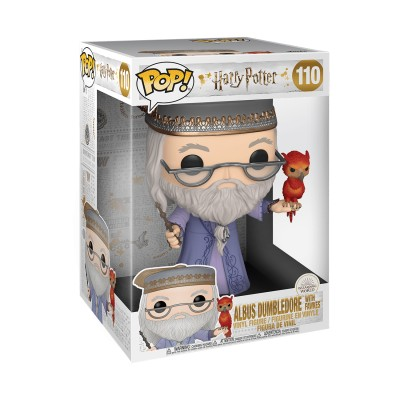 Dumbledore w/Fawkes - Super Oversize 10' - Harry Potter (110) - Pop Movies
